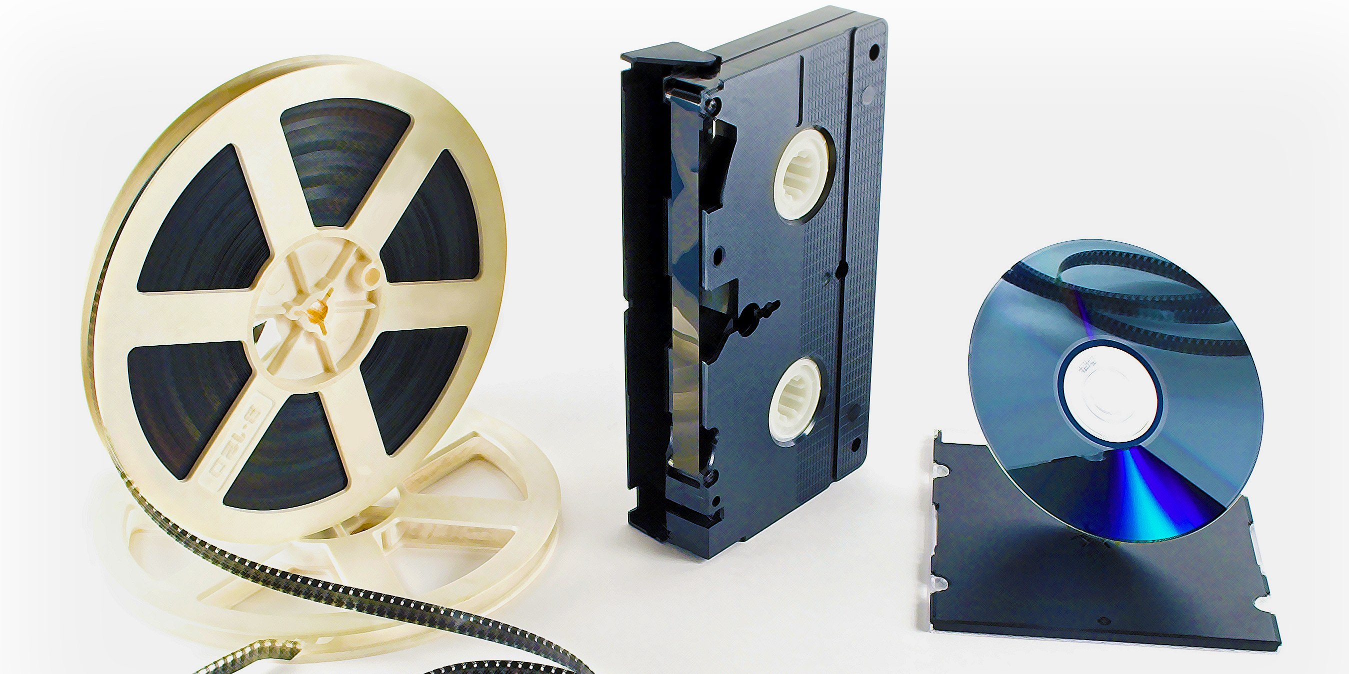 Transfer 8mm and 16mm film, either silent or with soundtrack, to DVD, Blu-ray and digital files at Milwaukee Media Duplication.